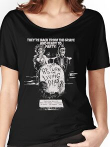 return of the living dead t shirt Women's Relaxed Fit T-Shirt