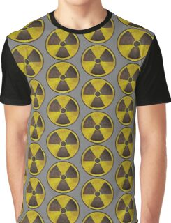 Radioactive Fallout Symbol - Geek Rusty Graphic T-Shirt