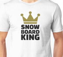Snowboard king champion Unisex T-Shirt