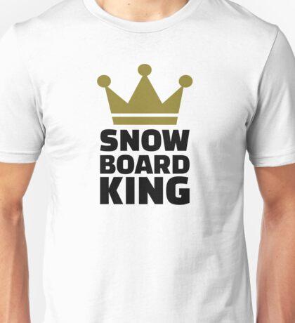 Snowboard king champion Unisex T-Shirt