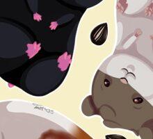 Hamster Stickers Sticker