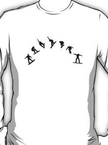 Snowboard freestyle jump T-Shirt