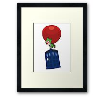 Tingle & The Tardis Framed Print