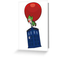Tingle & The Tardis Greeting Card