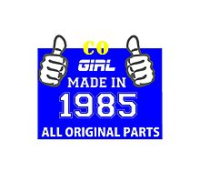 This Colorado Girl Made in 1985 Photographic Print
