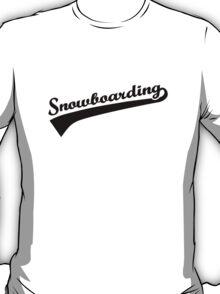 Snowboarding T-Shirt