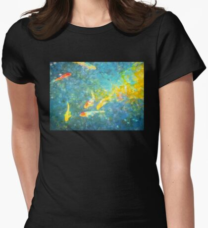 Koi 4 Womens Fitted T-Shirt