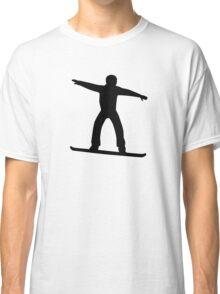 Snowboarding sports Classic T-Shirt