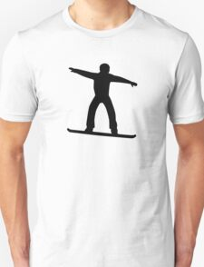 Snowboarding sports Unisex T-Shirt