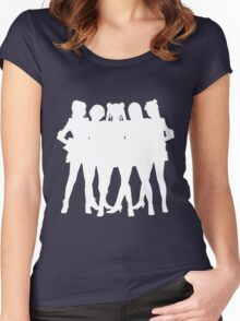 ~La Reconquista~ Silhouette Women's Fitted Scoop T-Shirt