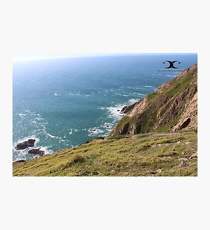 A view of Pacific Ocean. Photographic Print