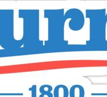 AARON BURR 1800 - Alexander Hamilton Sticker