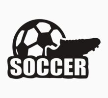 Soccer shoe ball Kids Tee