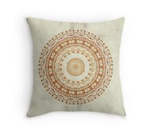 Mandala Desire in Golden Yellow, #redbubble, #mandala, #designer Throw Pillow