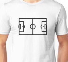 Soccer field Unisex T-Shirt
