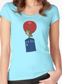 Tingle & The Tardis Women's Fitted Scoop T-Shirt