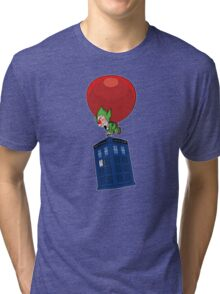 Tingle & The Tardis Tri-blend T-Shirt