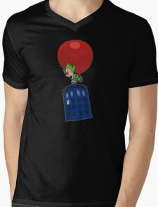 Tingle & The Tardis Mens V-Neck T-Shirt