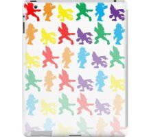 Multi-Colored Falco Fade Design iPad Case/Skin
