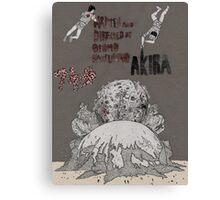 AKIRA - Film Poster Canvas Print