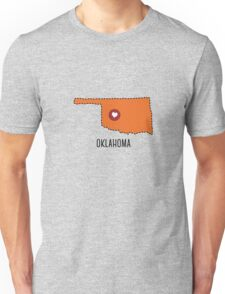 Oklahoma State Heart Unisex T-Shirt