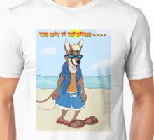 This Way To The Beach! Unisex T-Shirt