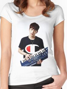 Day6 - Wonpil Women's Fitted Scoop T-Shirt