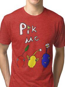 Pikmin Pick Me Tri-blend T-Shirt