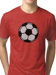 Soccer football Tri-blend T-Shirt
