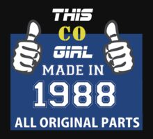 This Colorado Girl Made in 1988 by satro