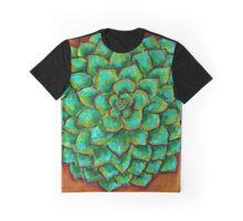 Succulent Mandala Graphic T-Shirt