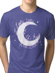 Love to the Moon Tri-blend T-Shirt