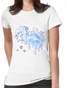 Alola Ninetails  Womens Fitted T-Shirt