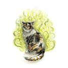 Stinky Cat by brettisagirl