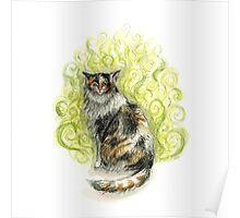 Stinky Cat Poster