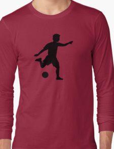 Soccer player Long Sleeve T-Shirt