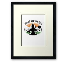 India Quidditch Framed Print