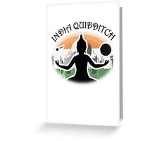 India Quidditch Greeting Card