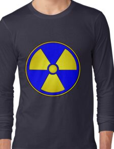 Radioactive Fallout Gamer Geek Long Sleeve T-Shirt