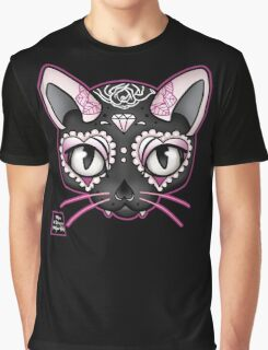 Day of the Kitty PINK Graphic T-Shirt