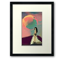 Mars Trip Framed Print