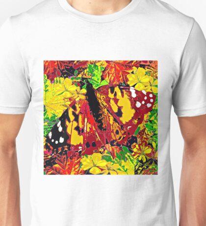 Butterfly Autumn Unisex T-Shirt