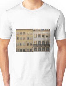 Windows pattern in Baixa Coimbra Portugal Unisex T-Shirt