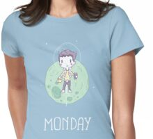 Space Monday Womens Fitted T-Shirt