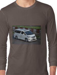white colored toyota vellfire Long Sleeve T-Shirt
