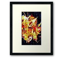 The Golden Compass by Floria Rey Framed Print
