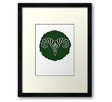 Markarth Seal Framed Print