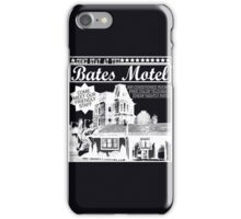 Bates Motel - White Type iPhone Case/Skin