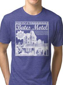 Bates Motel - White Type Tri-blend T-Shirt