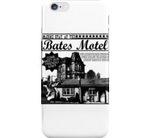 Bates Motel - Black Type iPhone Case/Skin
